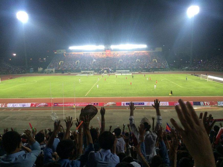 ការប្រកួតមិត្តភាពរវាងក្រុម Cambodia All Stars ជាមួយក្រុម Laos All Stars (រូបពីហ្វេសប៊ុកនាយករដ្ឋមន្ត្រី)