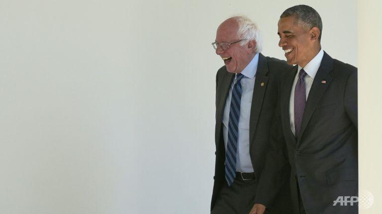 លោក Sanders ប្ដេជ្ញាធ្វើការជាមួយលោកស្រី គ្លីនតុន