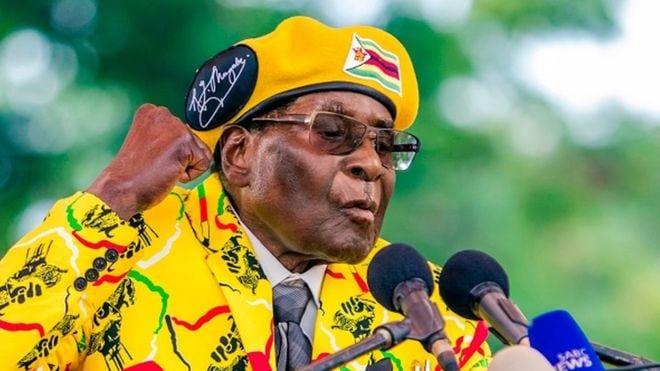 ផ្លូវចំនួន៦ដែលមេដឹកនាំអាយុ៩៣ឆ្នាំ Mugabe ត្រូវដើរ